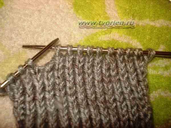 вяжем носки на пяти спицах (5)