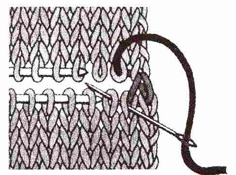 горизонтальный трикотажный шов (1)
