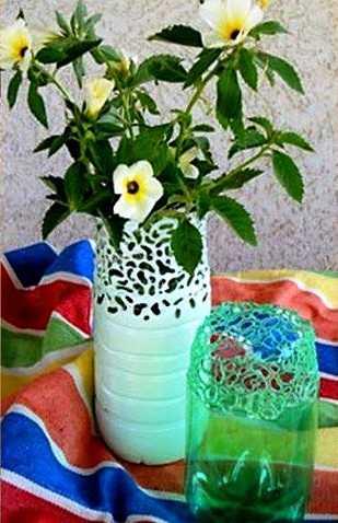 ваза-из-бутылок