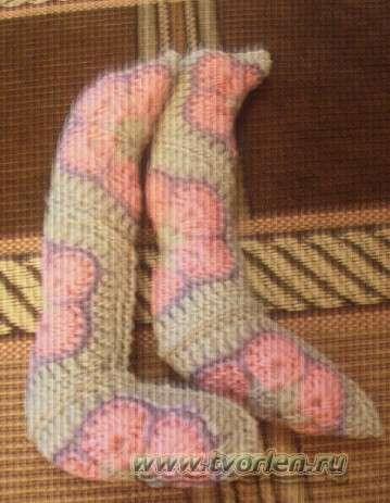ноги цветочного зайца