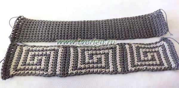 браслет-тунисским-крючком-Египет-3