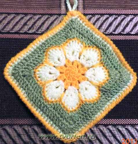 прихватка-африканский-цветок-8
