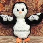 Пингвин… или, как вязать пингвина из мотивов
