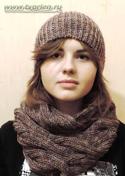 Снуд, воротник, шеегрейка | Knitting club // нитин клаб