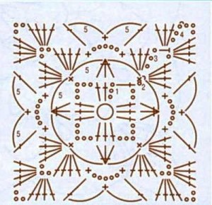 шаль-накидка крючком (2)