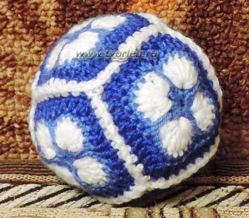 мячик из мотивов