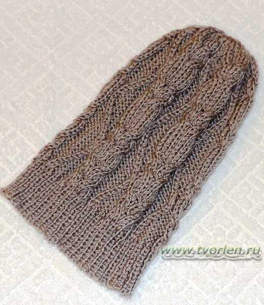 шапочка с косами(4)
