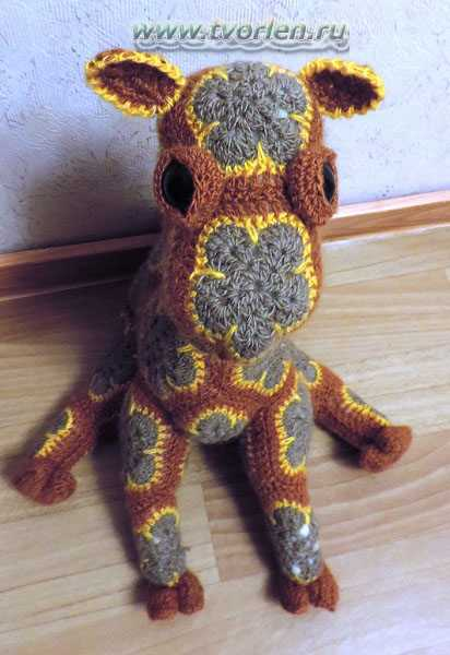 верблюд вязаный (5)