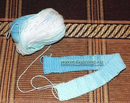 летняя шапочка для младенца крючком (1)