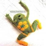 Лягушка-малышка из мотивов
