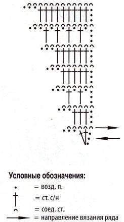 боснийское вязание- бактус схема
