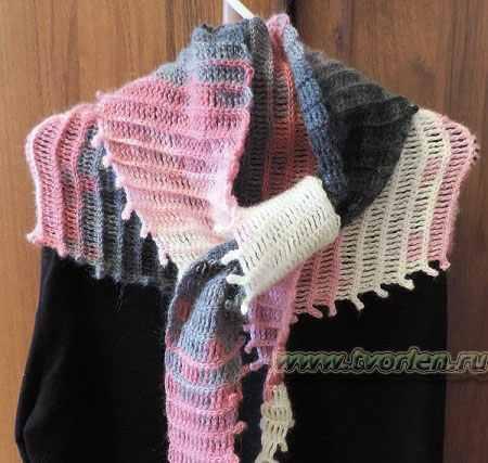 Вязание боснийского бактуса