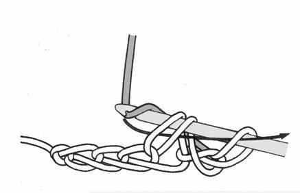 При закрытии ряда в вязании по