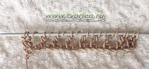филейная сетка тунисским крючком (7)
