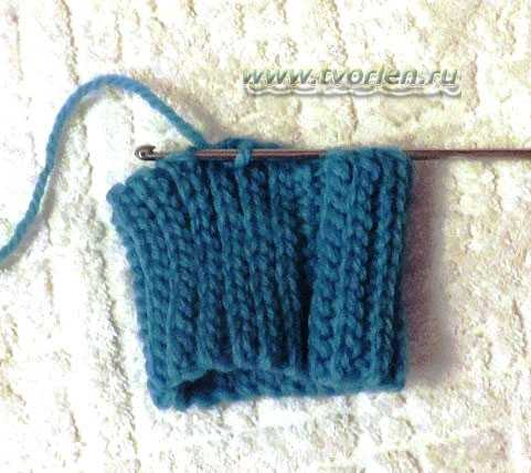 как вязать носки крючком (3)