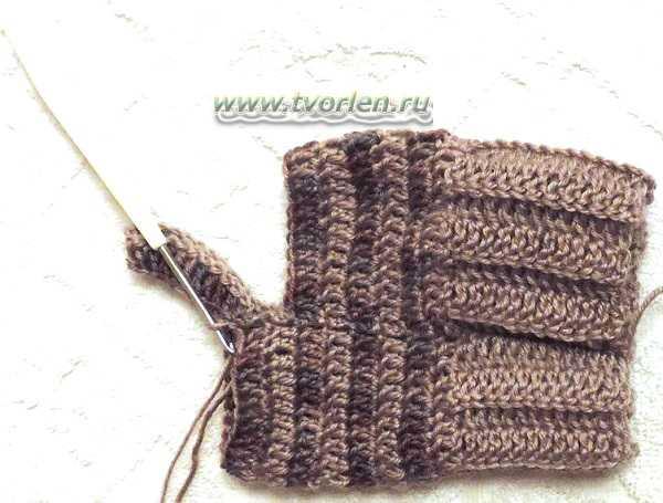 Носки крючком практика (10)