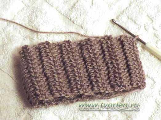 Носки крючком практика (4)