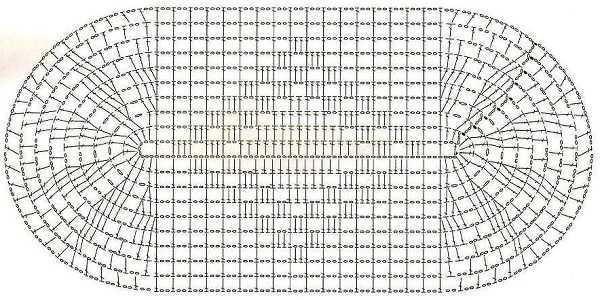 Воздушная петля крючком схема фото 803