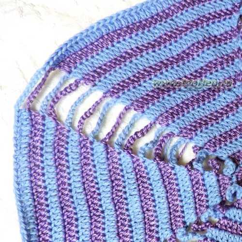 подушка крючком карамелька (3)