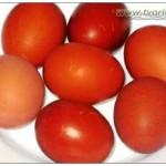 Покраска яиц к Пасхе луковой шелухой