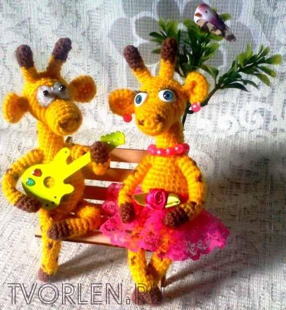 жираф крючком (5)