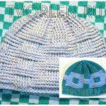 Осенняя шапочка крючком с рельефным узором от Алёны Буньковой
