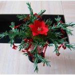 Новогодний букет из фоамирана мастер класс Гребневой Галины Алексеевны. Конкурсная работа № 14