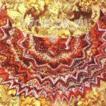 Птица Феникс — небольшаяажурная шаль накидка крючком. Схема вязания накидки