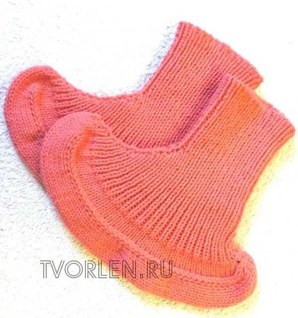 носочки на двух спицах (11)