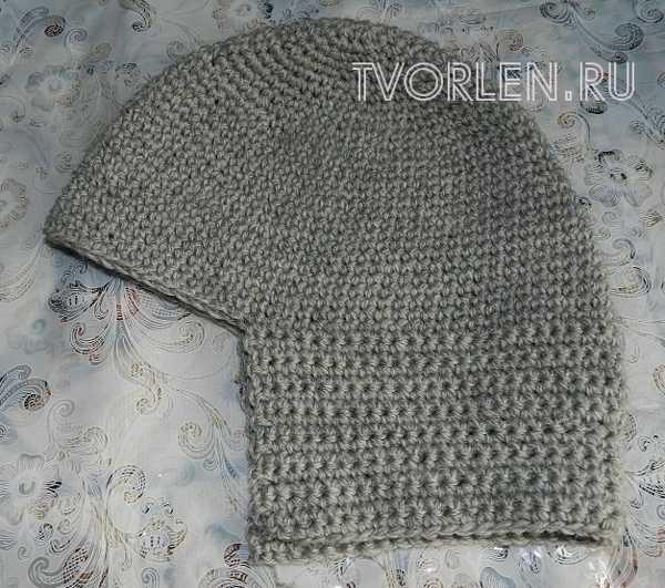 шапка шлем крючком (4)