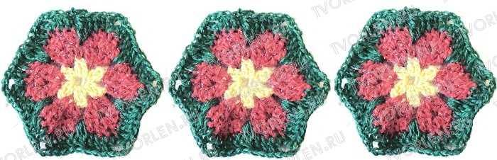 цветочный мотив крючком (3)