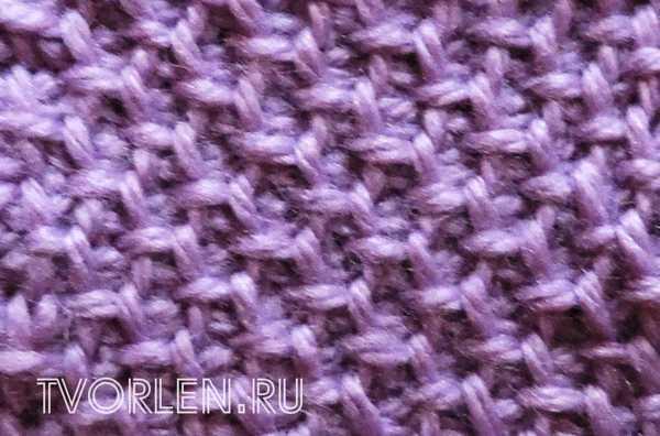Снятые петли в технике тунисского вязания (4)