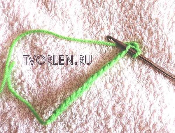 захват нити для вязания крестиком