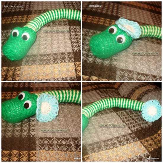 змея спицами (2)