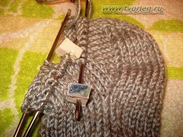 вяжем носки на пяти спицах (11)