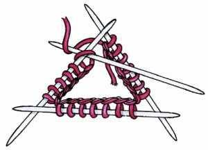 вяжем спицами по кругу (2)