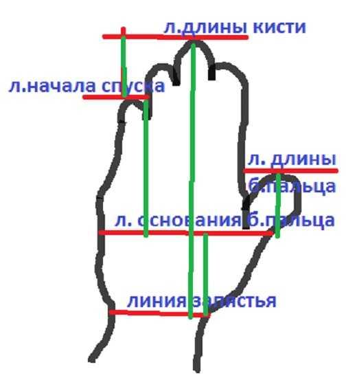 вязание варежек в теории (4)