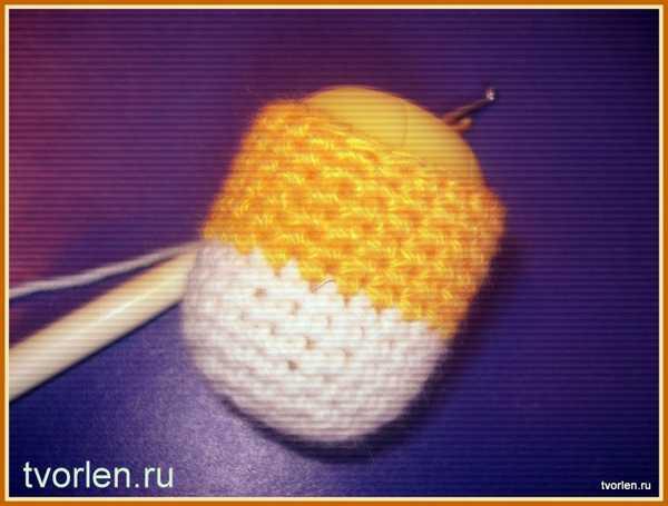 Мастер-класс по вязанию цыплёнка крючком (5)