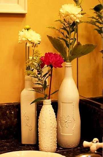 вазы-из-бутылок