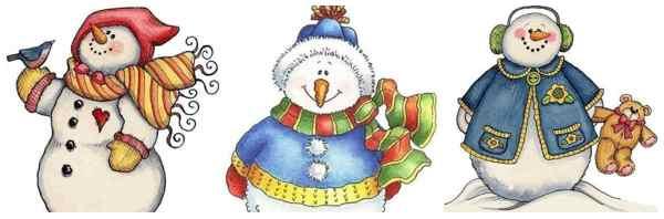 снеговики (2)