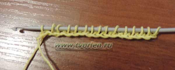 плетенка - простое тунисское вязание (9)
