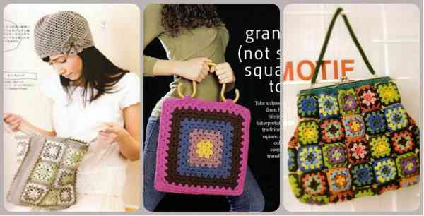 бабушкин квадрат сумки