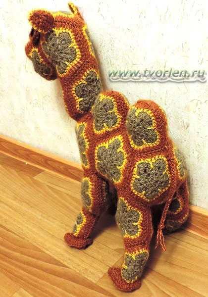 верблюд вязаный (3)