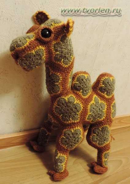 верблюд вязаный (4)