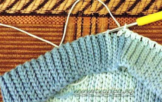 летняя шапочка для младенца крючком (2)