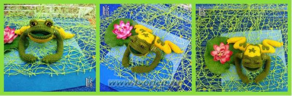 Лягушка-малышка из мотивов (3)