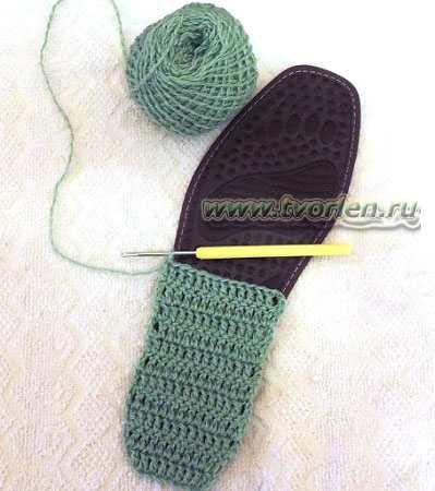 тапки крючком тяпки-ляпки (2)