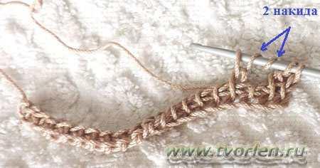 филейная сетка тунисским крючком (6)