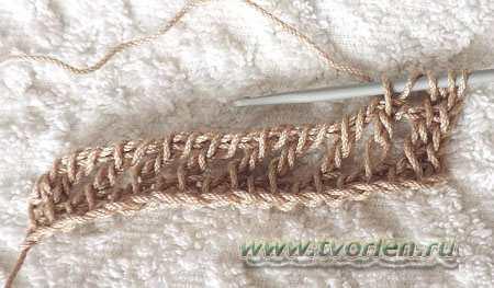 филейная сетка тунисским крючком (9)
