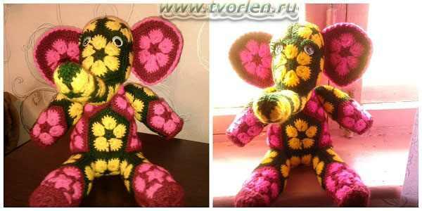 слоник в цветочком (2)